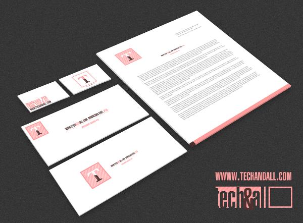 Minimalistic Branding Mockup Template